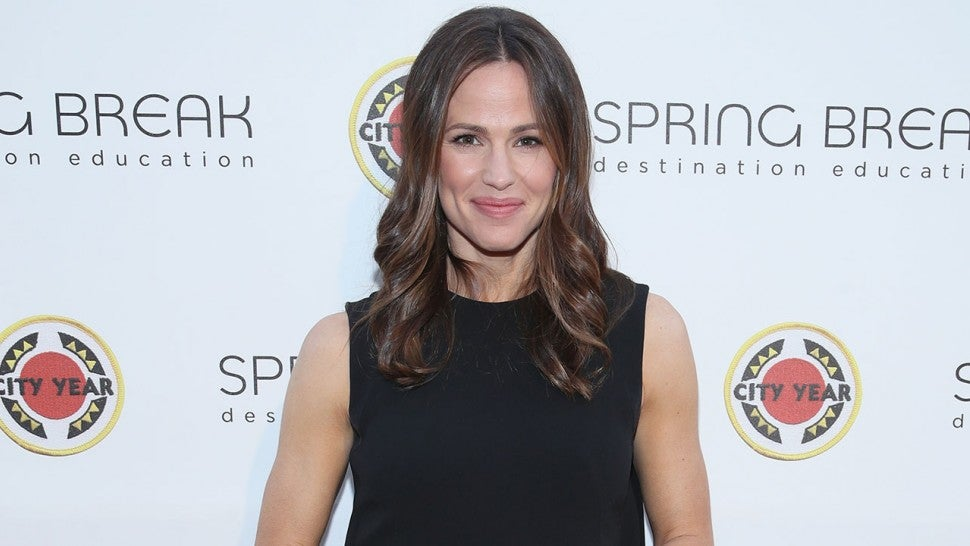Jennifer Garner at City Year Los Angeles Spring Break in Culver City