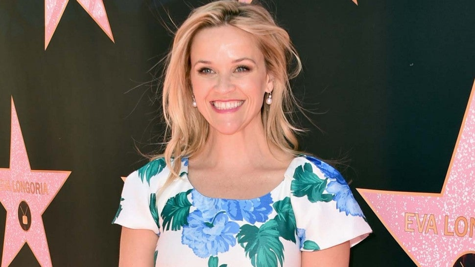 Reese Witherspoon at a luncheon for Eva Longoria's Hollywood Star Ceremony