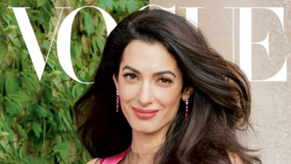 Amal Clooney Covers Vogue, Talks About George And The Twins