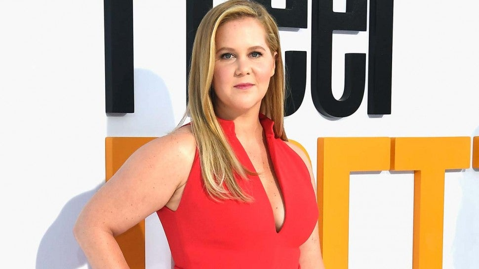 Amy Schumer at the premiere of 'I Feel Pretty' in West Hollywood on April 17