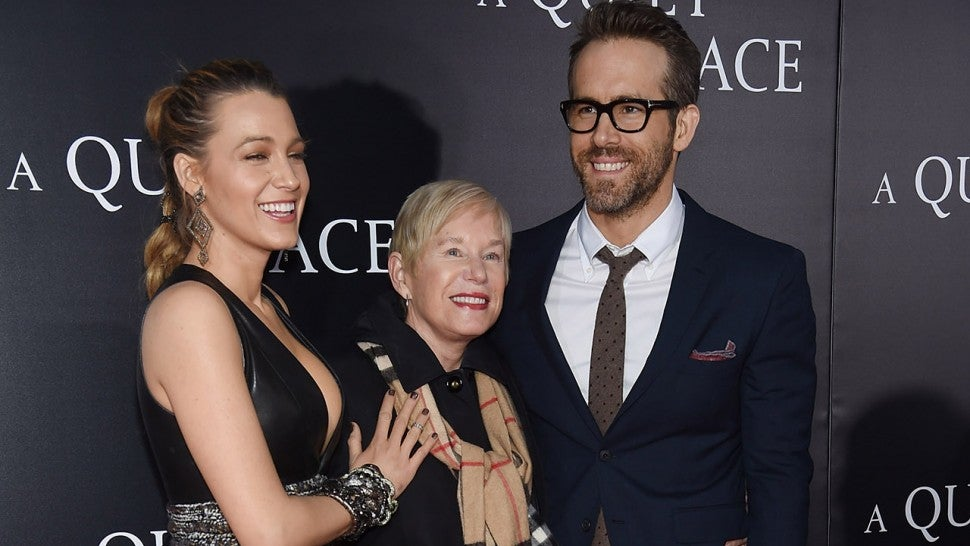 Blake Lively, Tammy Reynolds, and Ryan Reynolds