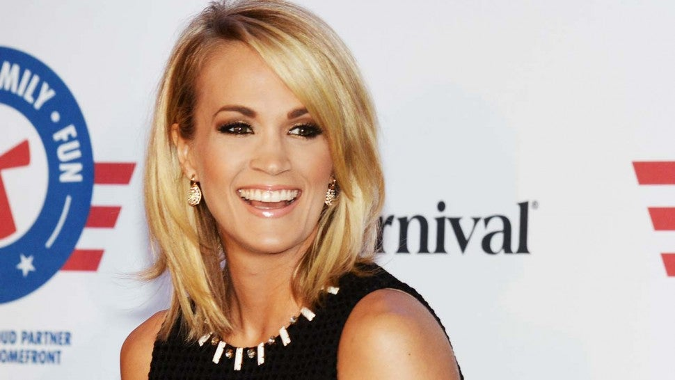 Carrie Underwood gives first televised interview since her fall