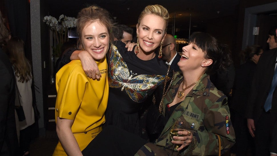 Mackenzie Davis, Charlize Theron and Diablo Cody