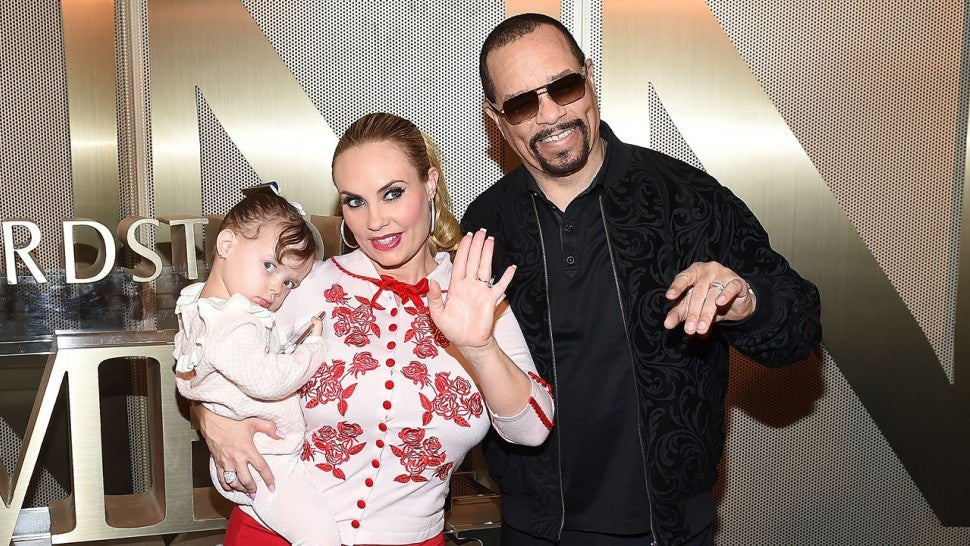 coco austin and ice t pose with daughter chanel in sweet family pics
