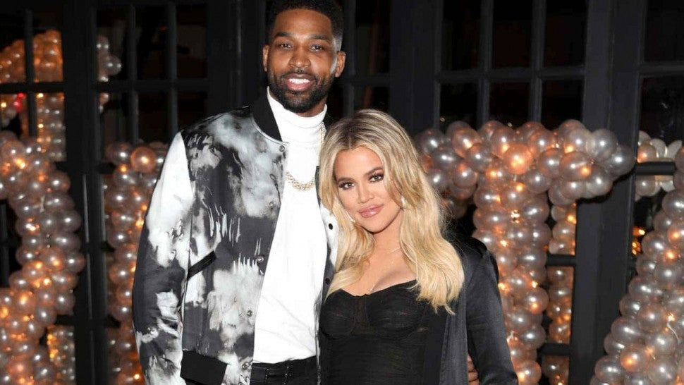 Image result for khloe kardashian and tristan thompson