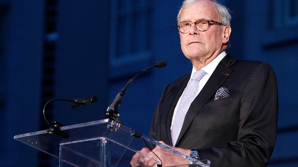 Brokaw denies sexually harassing former NBC colleague