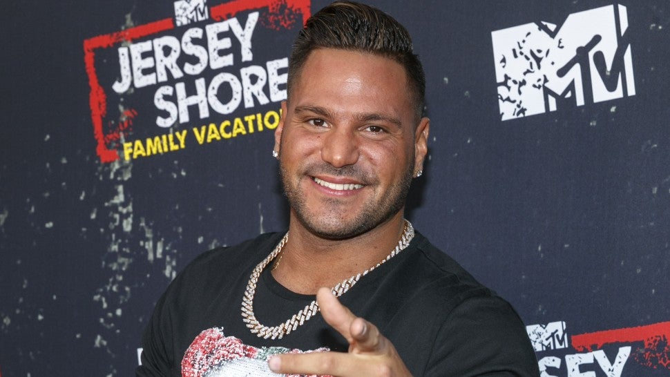 Ronnie Ortiz-Magro arrives at the 'Jersey Shore Family Vacation' Premiere Party