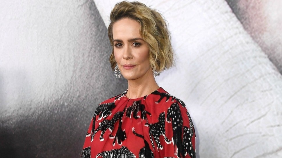 Sarah Paulson Doesn't Care About Critics of Her Relationship