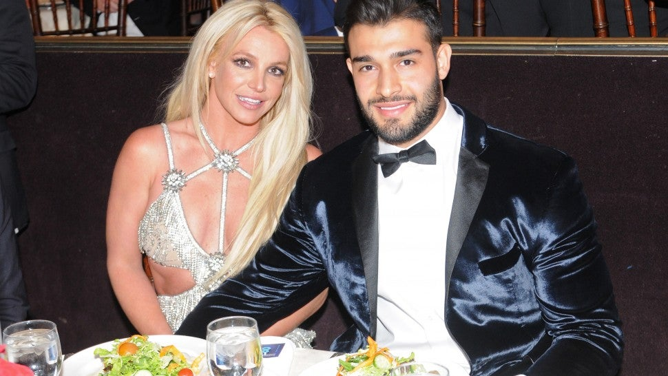 Britney Spears and Sam Asghari at GLAAD