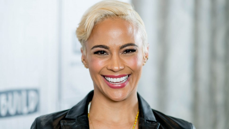 Paula Patton discusses 'Traffik' on April 18, 2018 in New York City.