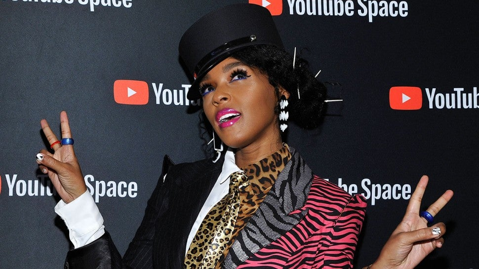Janelle Monae at Dirty Computer screening at YouTube Space LA