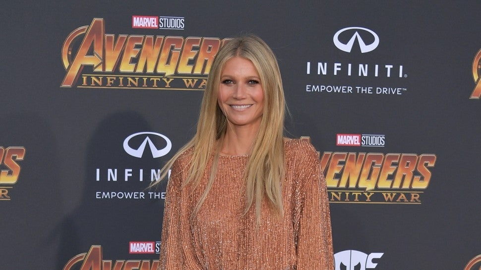 Gwyneth Paltrow embraces motherhood with throwback snap