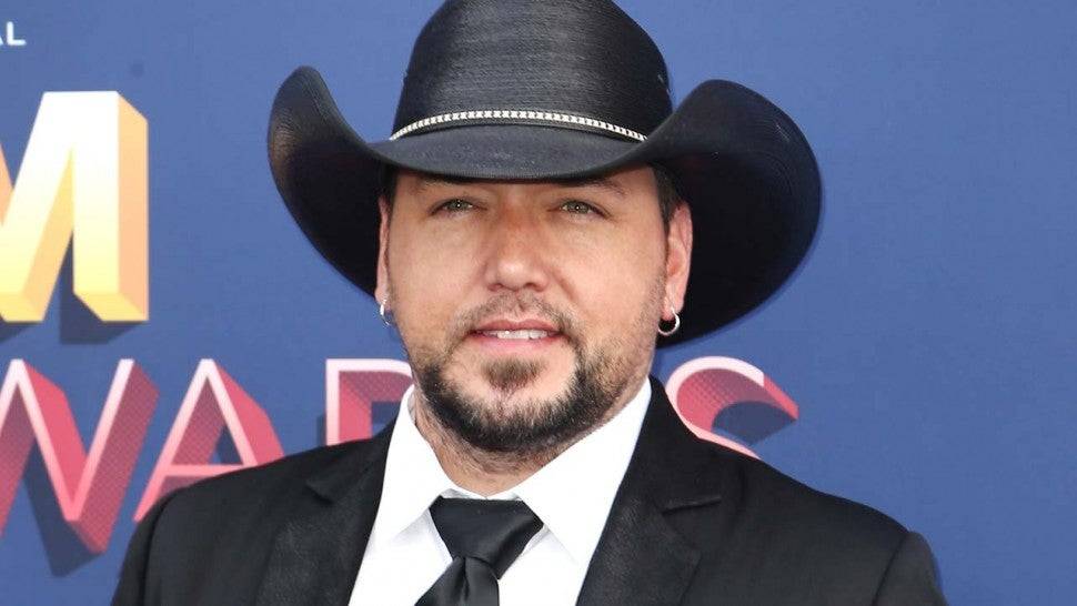 Jason Aldean at the 53rd Academy of Country Music Awards on Apr. 15