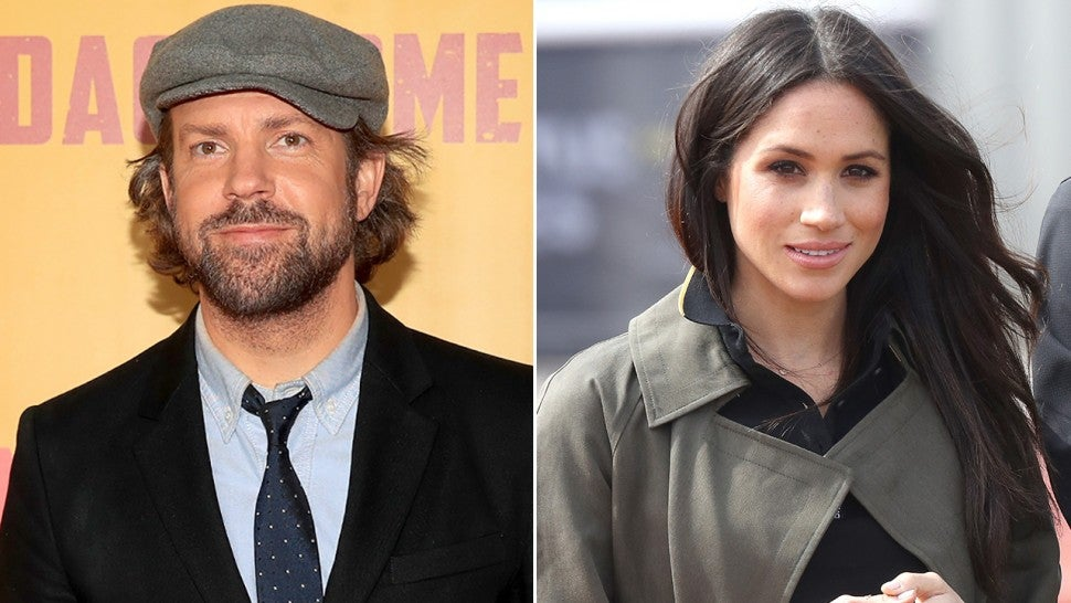 Jason Sudeikis and Meghan Markle