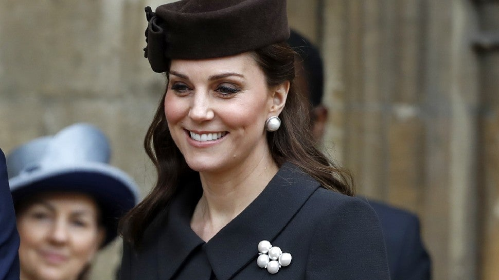 Kate Middleton Easter Service