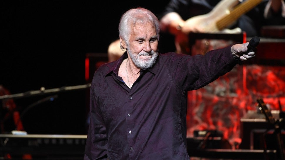 Kenny Rogers performs onstage during his final world tour 'The Gambler's Last Deal' at the Civic Arts Plaza on June 30, 2016 in Thousand Oaks, California.