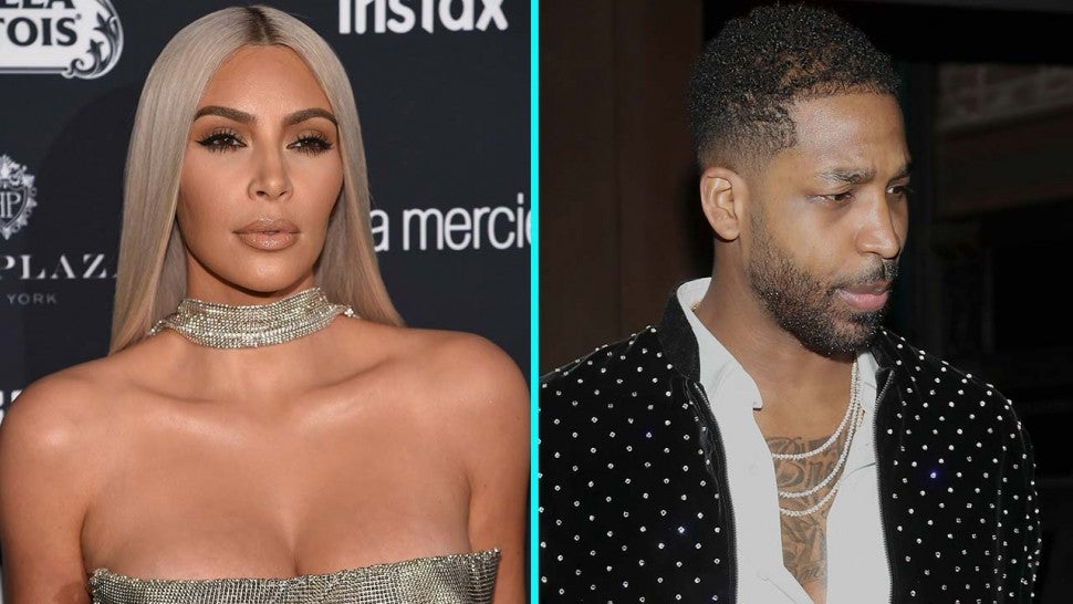 Kim Kardashian and Tristan Thompson
