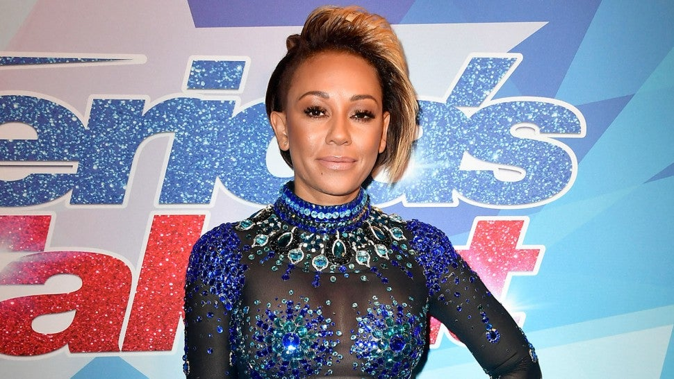 Mel B at America's Got Talent - August 2017