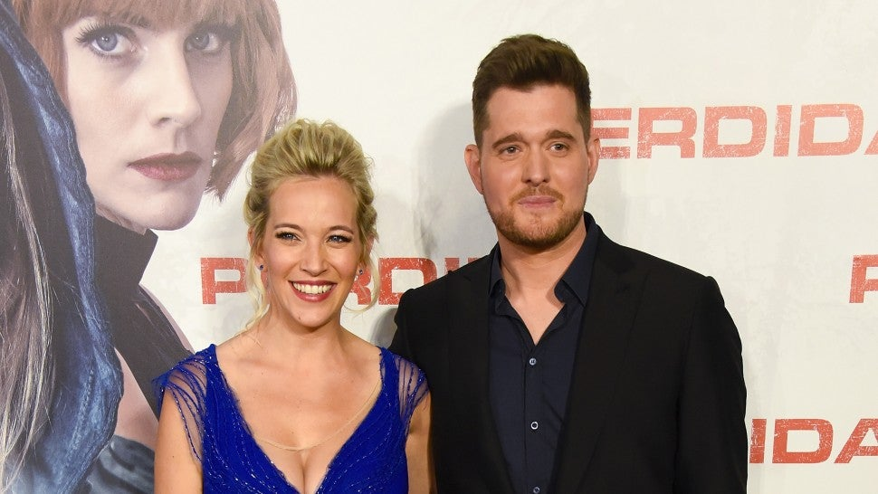 It's a girl! Michael Bublé shares happy news following son's cancer battle