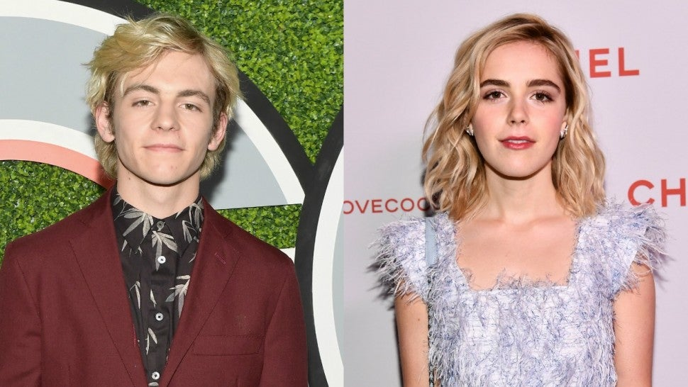 Ross Lynch And Kiernan Shipka Spotted Holding Hands While