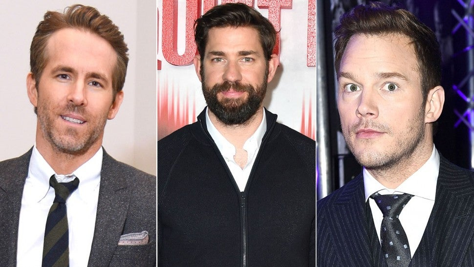 Chris Pratt, Ryan Reynolds, John Krasinski