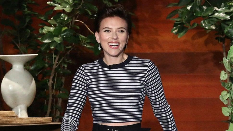Scarlett Johansson's daughter thinks she's a real-life superhero