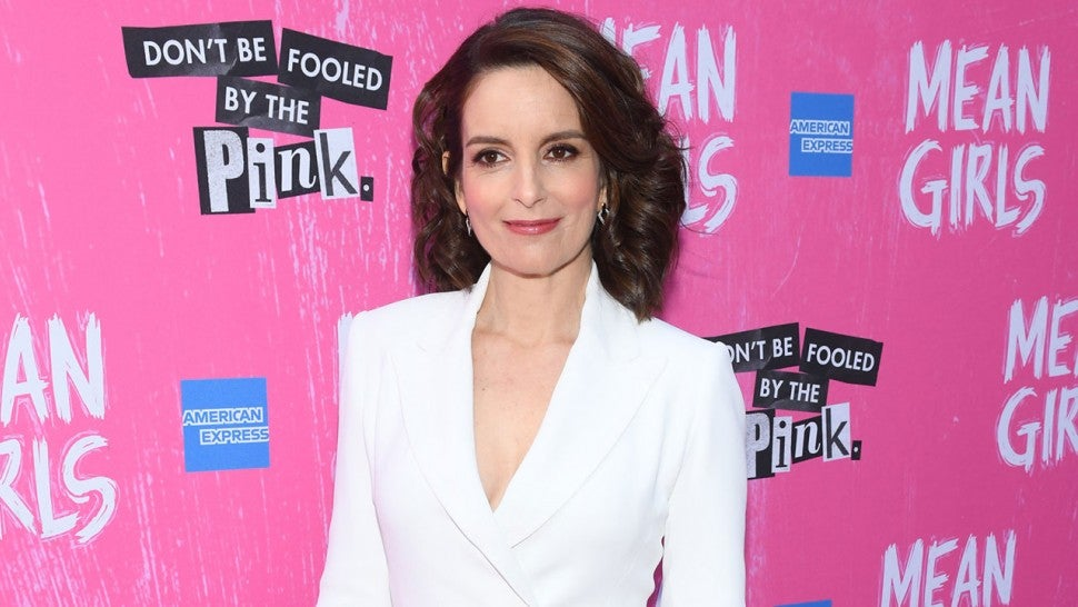 Tina Fey at Mean Girls opening night