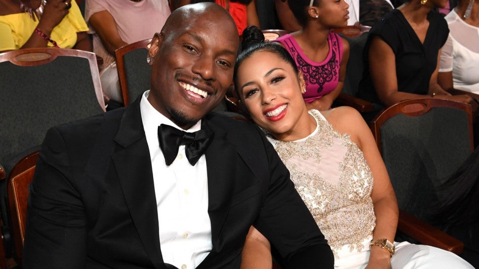 Tyrese Gibson wife Samantha