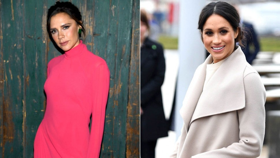 Victoria Beckham Is Not Designing Meghan Markle's Wedding