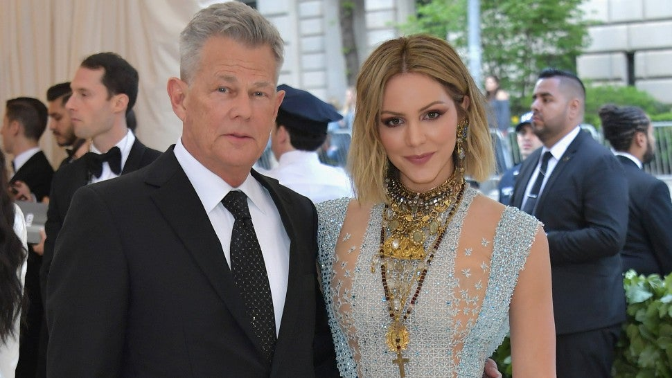Katharine McPhee and David Foster engaged