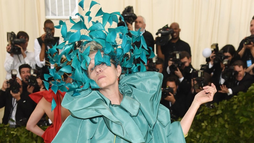 Frances McDormand astounds at Met Gala