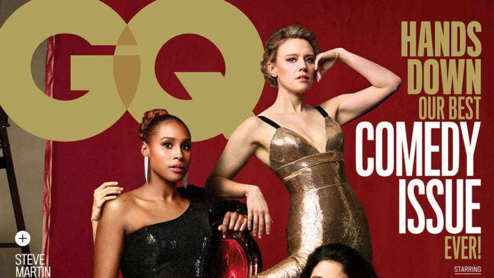 GQ Publishes Mock 'Apology' for Cover of Women Comedy Stars