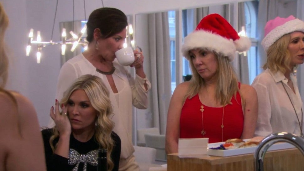 The cast of 'The Real Housewives of New York City' learns of Luann de Lesseps' fateful holiday travel plans