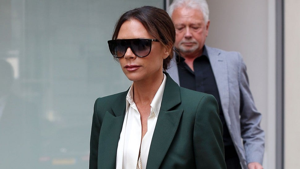 Victoria Beckham Gives Her Take On Meghan Markles Wedding Dress