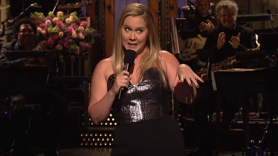Amy Schumer hosts 'Saturday Night Live' on May 12, 2018