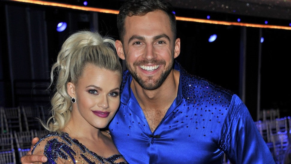 Chris Mazdzer and Witney Carson DWTS