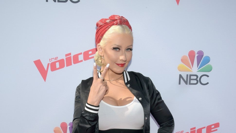 There's a deeper meaning behind Christina Aguilera's new makeup-free look