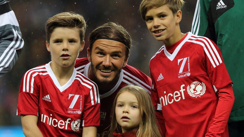David Beckham 'Heartbroken' His Sons Have Turned Their Backs On Football