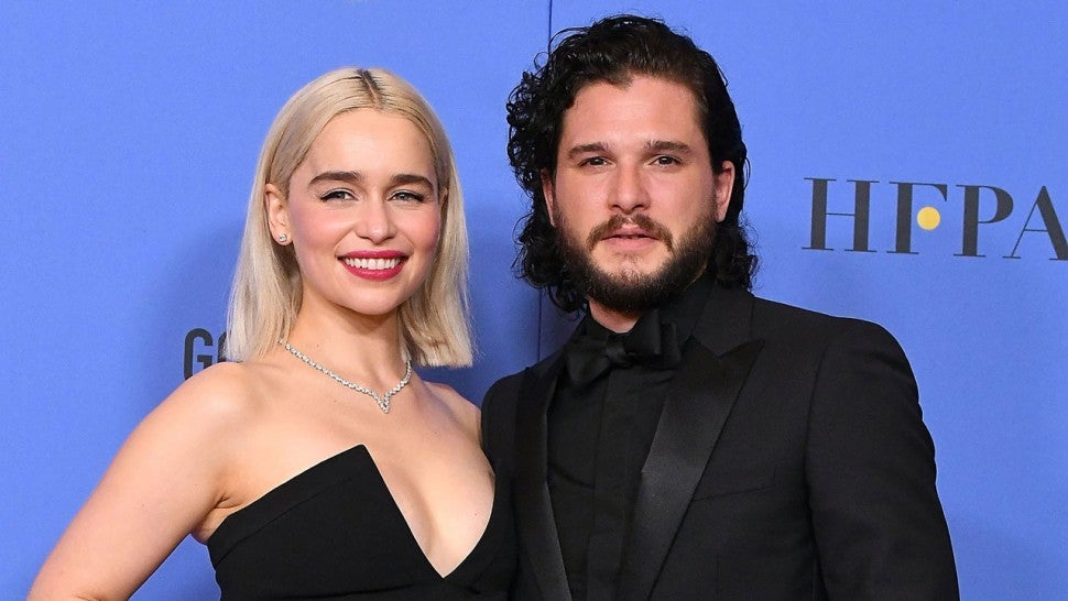 Emilia Clarke Kit Harington