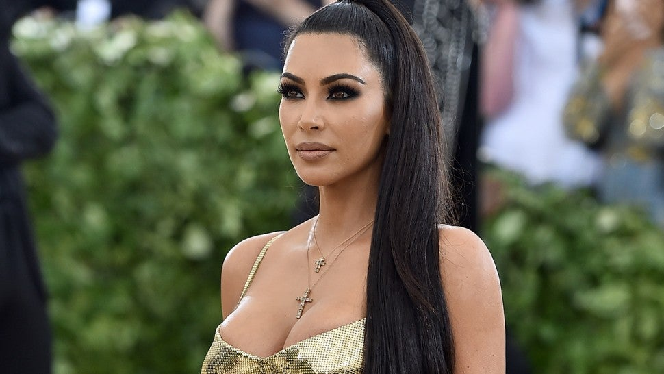 Kim Kardashian Goes Back to Blonde for Her and Kanye West's Anniversary