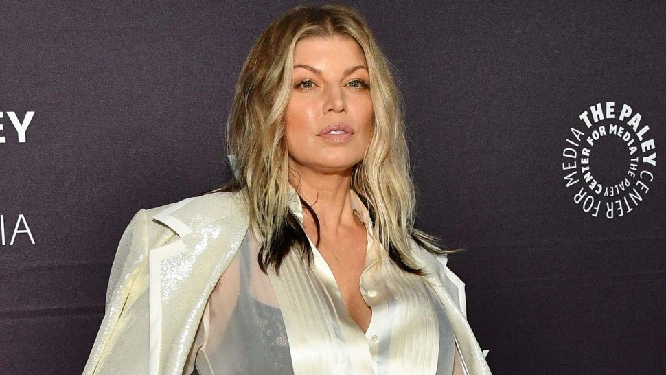 Fergie attends the 2018 Paley Honors: A Gala Tribute to Music on Television in New York
