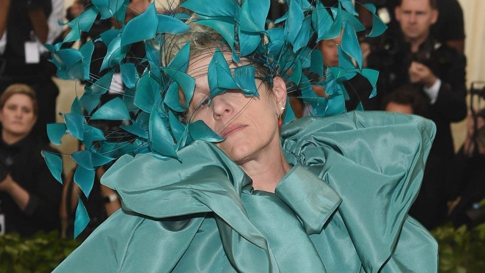 Frances McDormand astounds at Met Gala