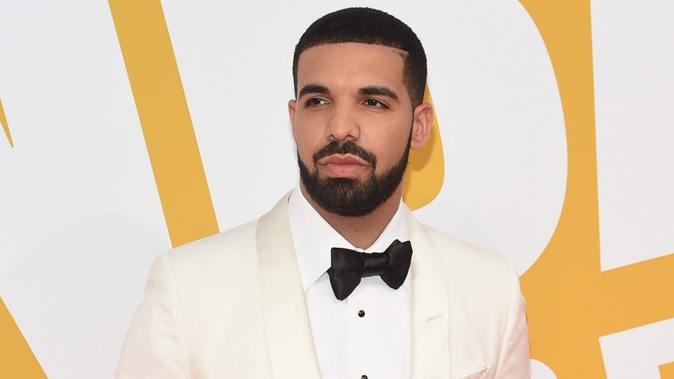 Drake at 2017 NBA Awards