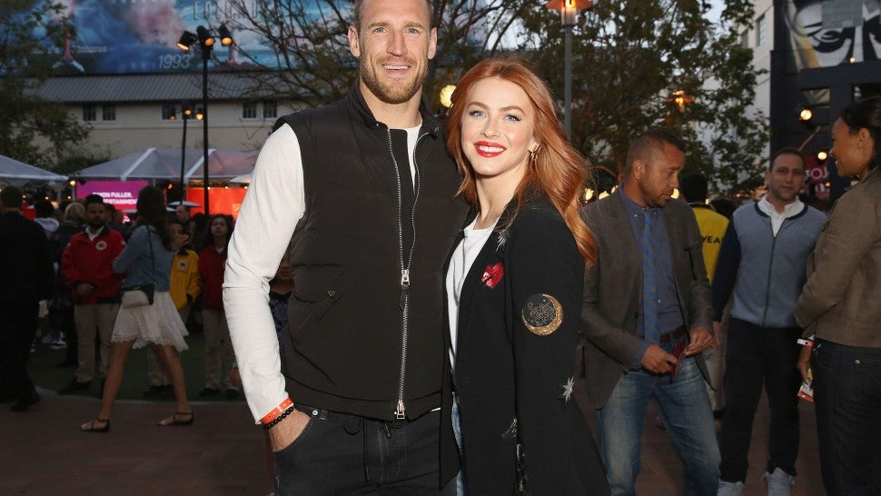 Brooks Laich and Julianne Hough at City Year spring break
