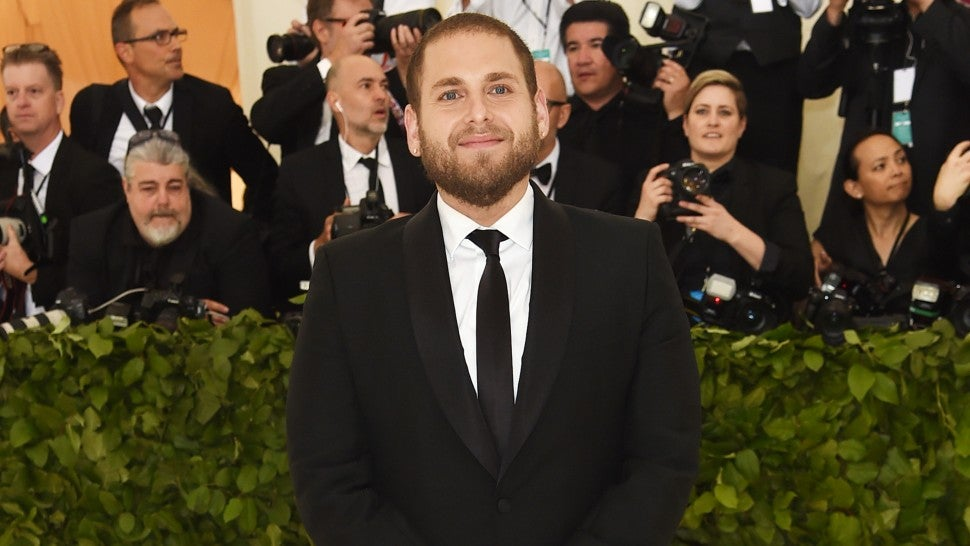 Jonah Hill at 2018 Met Gala