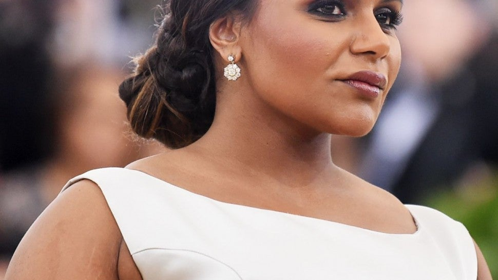 Mindy Kaling On How She Kept Weight Gain To 27 Pounds During Pregnancy Entertainment Tonight