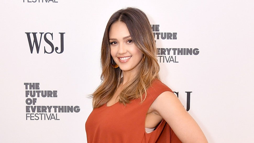 Jessica Alba at WSJ event