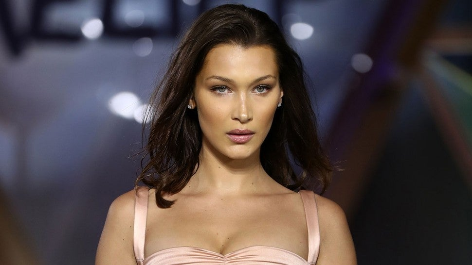 Bella Hadid walks  Runway at Fashion for Relief Cannes 2018