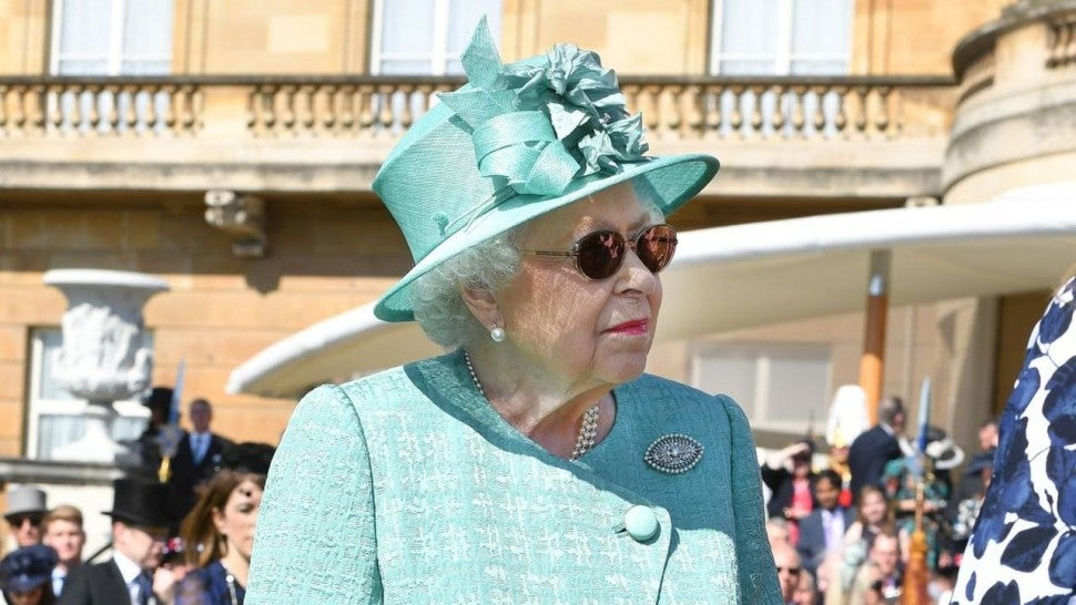 Queen Elizabeth at Garden Party