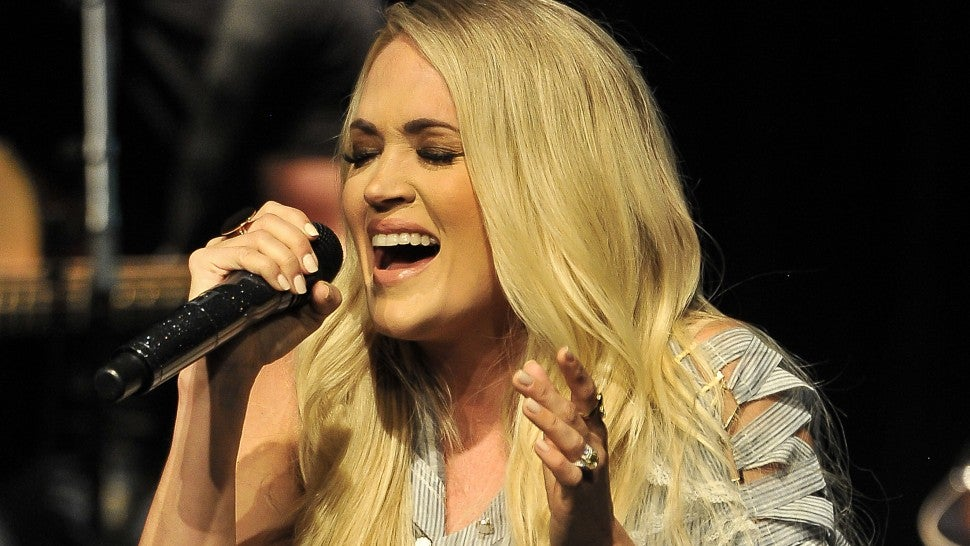 Carrie Underwood in Napa